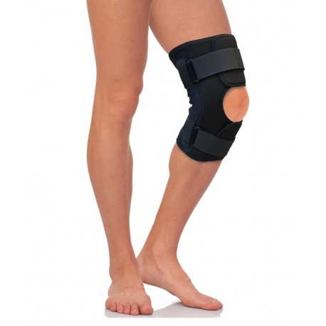 Бандаж компрессионный на коленный сустав с полицентрическими шарнирами Т-8508