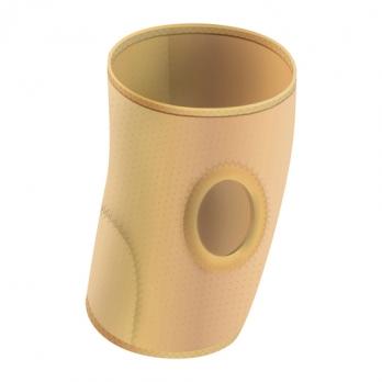 Бандаж фиксирующий коленный (бежевый) Польза  0804 неразъемный