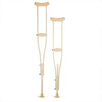 Костыли подмышечные деревянные с мягкими ручками 01-КИ (детские)