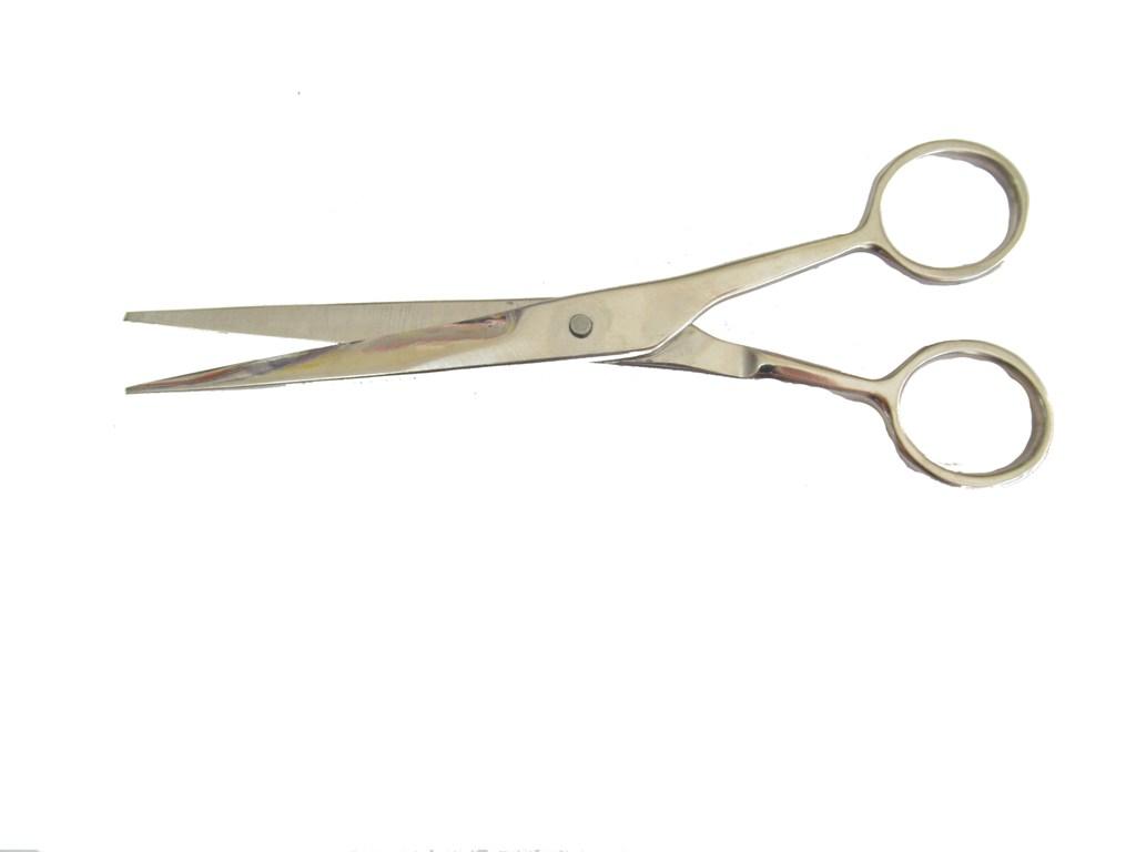 Н-03-М Ножницы из коррозиостойкой стали для стрижки волос при обработке краев раны