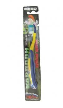 """Зубная щетка детская """"Карлсон"""" с анатомической ручкой, мягкая жесткость щетины"""