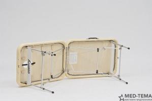 Массажный стол складной алюминиевый Med-Mos JFAL01A 2-х секционный_2