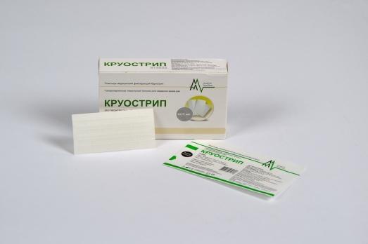 Пластырь медицинский фиксирующий Круострип 6х75мм 20шт/уп 815002