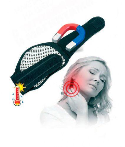 Накладка на шею с турмалином и магнитами