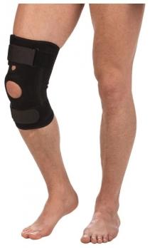 Бандаж компрессионный на коленный сустав с пластинами Т-8512
