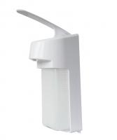 Дозатор локтевой настенный с пластиковой ручкой
