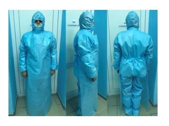 Комплект одежды защитный (Одежда одноразовая, медицинская)